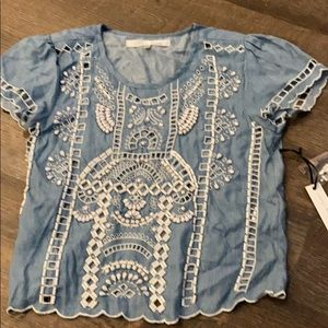 Lovers and friend beaded top